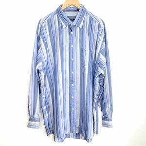 Burberry London Striped Button Down Shirt